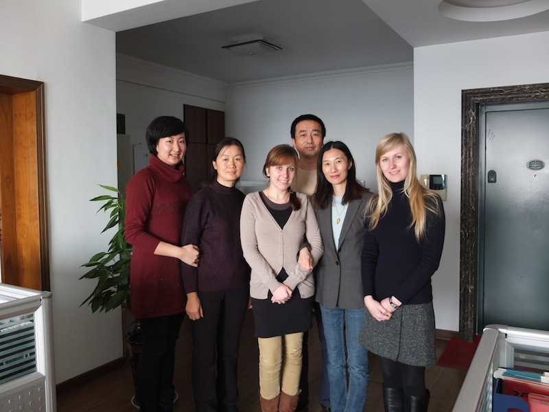 Sales team of China Witty LTD